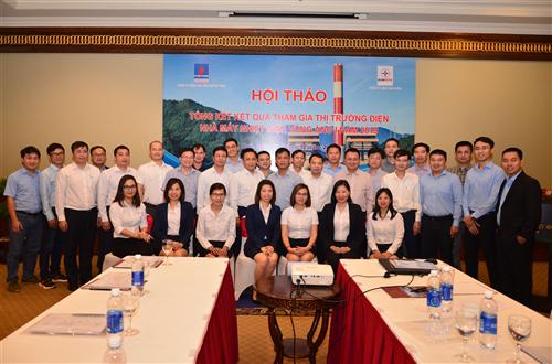 Hội thảo Tổng kết kết quả tham gia thị trường điện  Nhà máy Nhiệt điện Vũng Áng 1 năm 2019